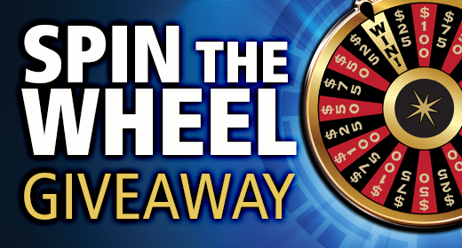 Spin the Wheel Giveaway